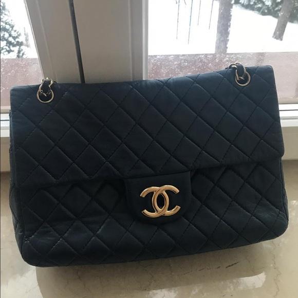 7efa604c99b7 CHANEL Bags | Classic Bag Shw Maxi Size | Poshmark